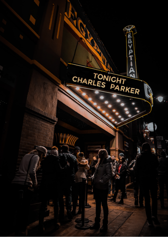Charles Parker Appearing Tonight!